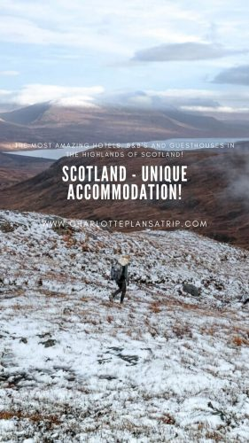 Scotland accommodation