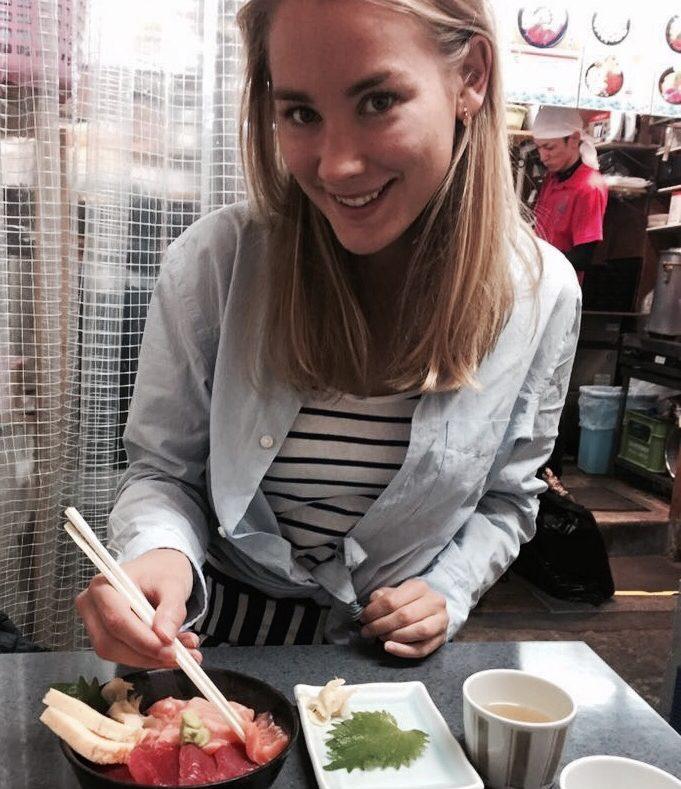 Sashimi in Japan Tokyo