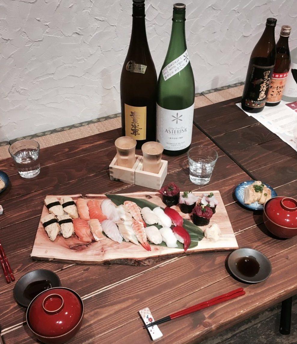 Sushi workshop in Japan Tokyo