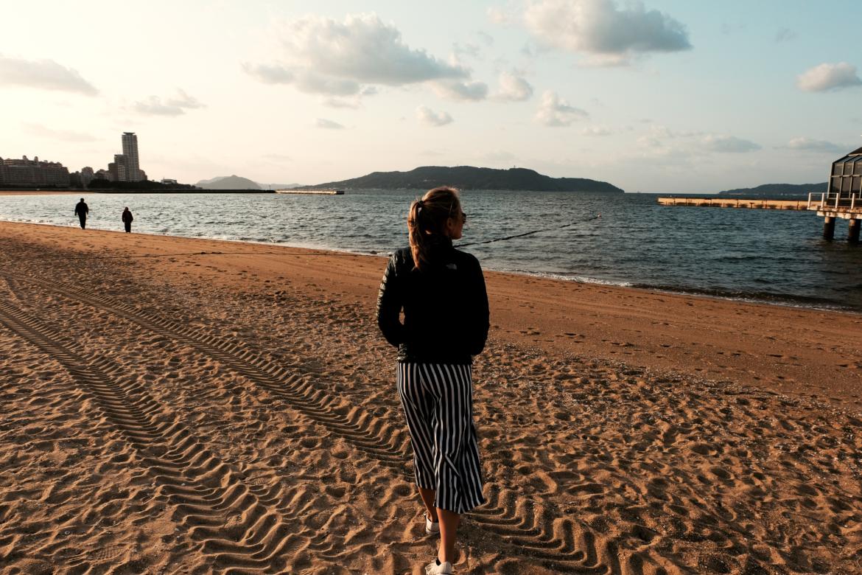 Japan: Fukuoka Beach