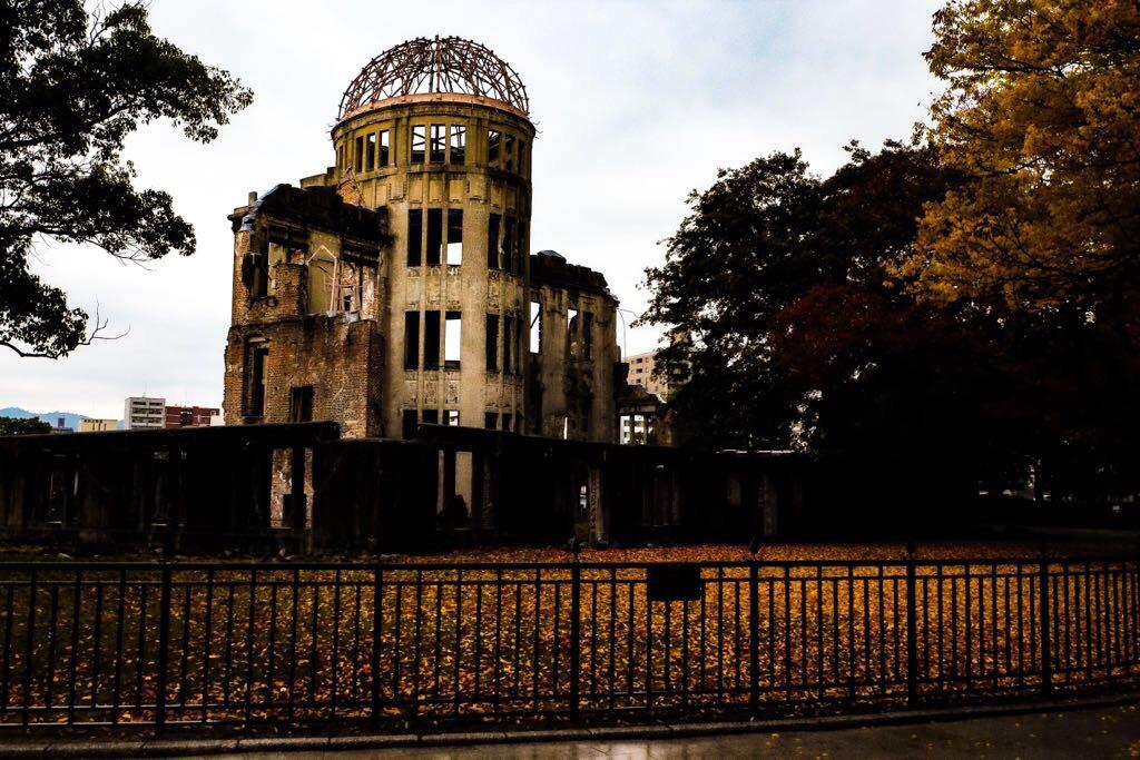 Japan: Het enige gebouw wat is blijven staan na de atoombom in Hiroshima
