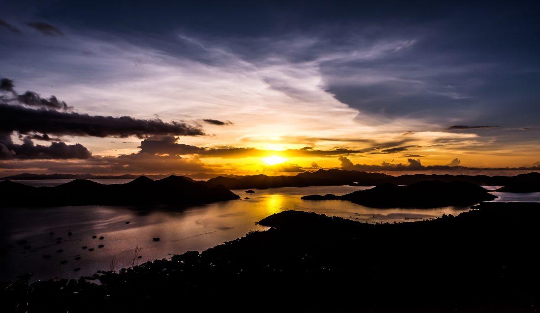 De Filipijnen: Het uitzicht vanaf Mount Tapyas.