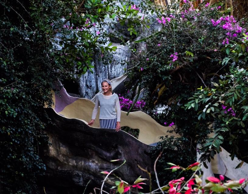 Vietnam: Op een van de gekke trappen van The Crazy House