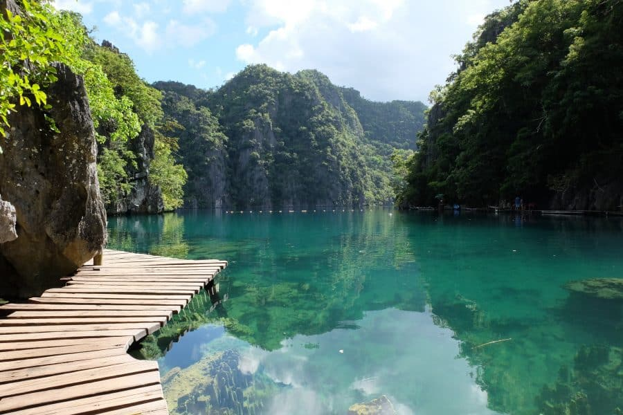 The Philippines: Coron Lakes Palawan