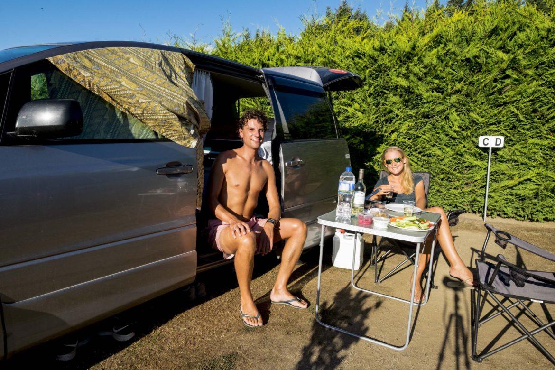 NZ: camping life