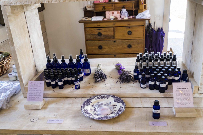 New Zealand Wanaka Lavendel Farm shop