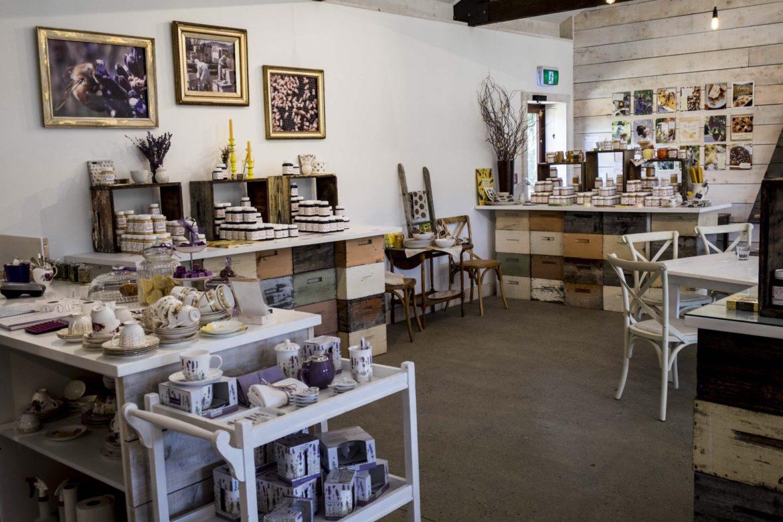 New Zealand Lavendel Farm shop Wakana