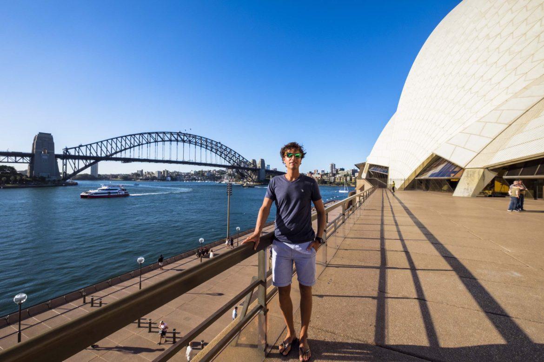 Australie: ries bij opera house