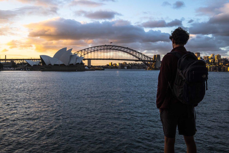 Australie: sunset sydney