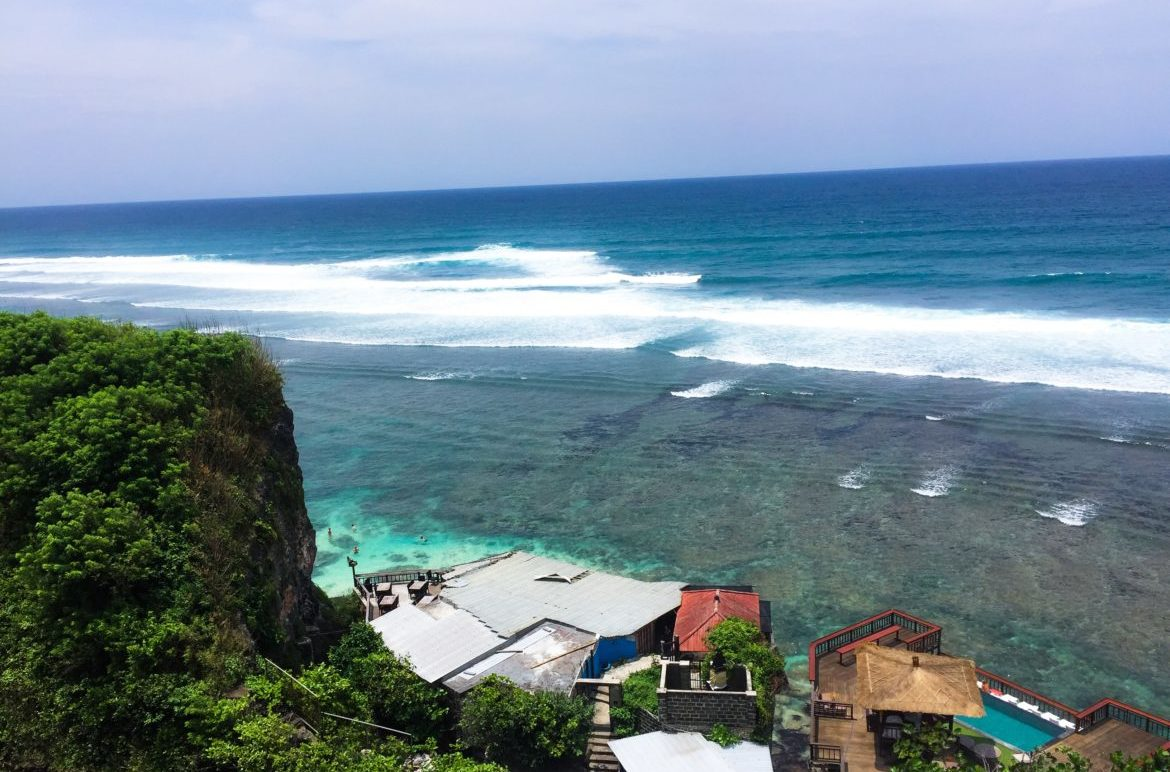 uluwatu Bali View from Single Fin