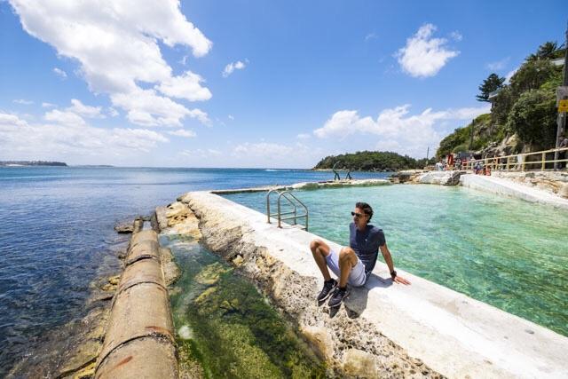 Australie: openbaar strand
