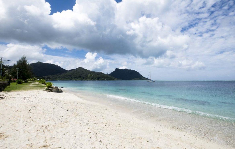 Wit zand, blauwe zee!