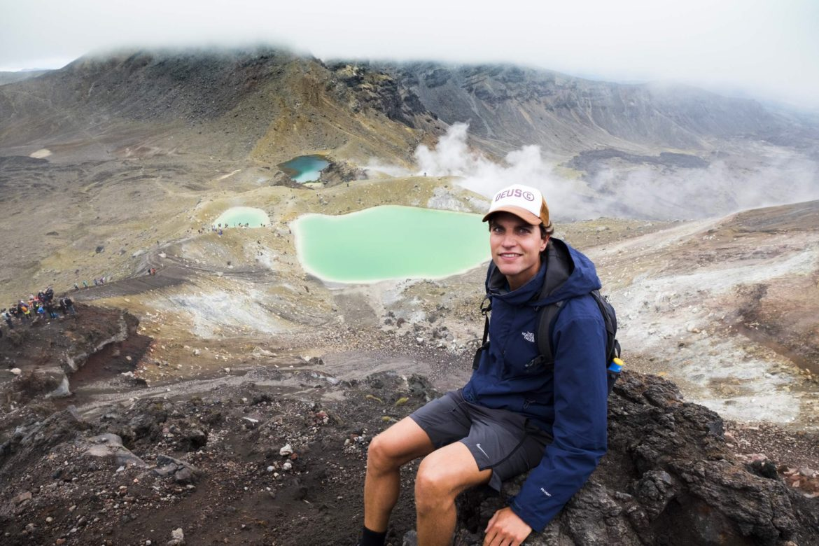 NZ: tongariro crossing met ries