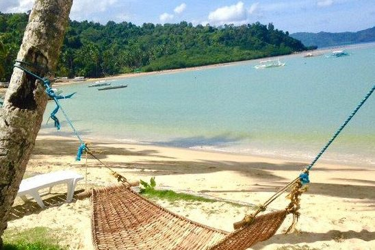 The Philippines hammock Palawan Port Barton