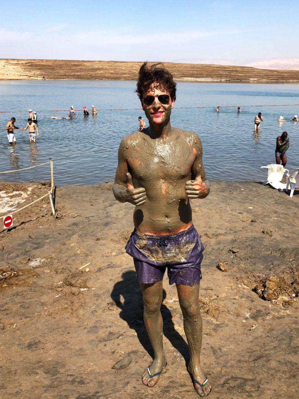 Israel: dead sea mudd Ries