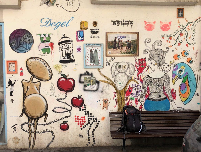 Israel: grafiti