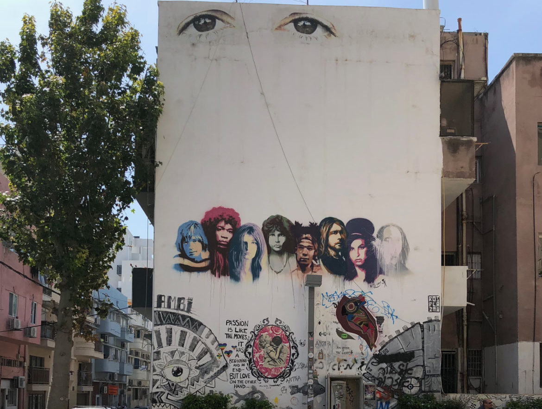Israel: straat art