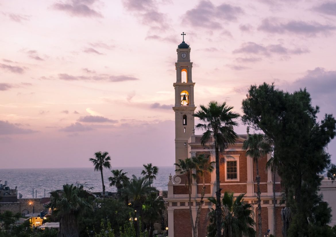Israel: jaffa church 1