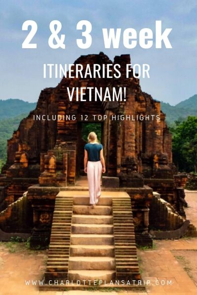 the ultimate vietnam itinerary for two or three weeks backpacking in Vietnam including top highlights in Vietnam
