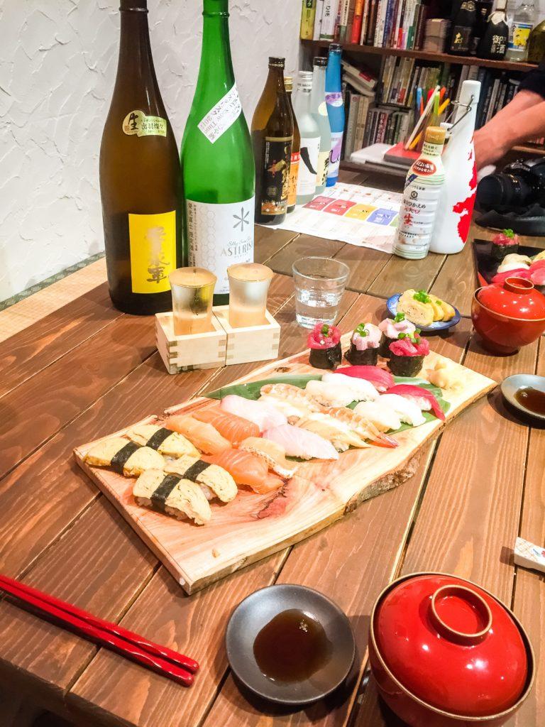 Japan: Tokyo sushi workshop