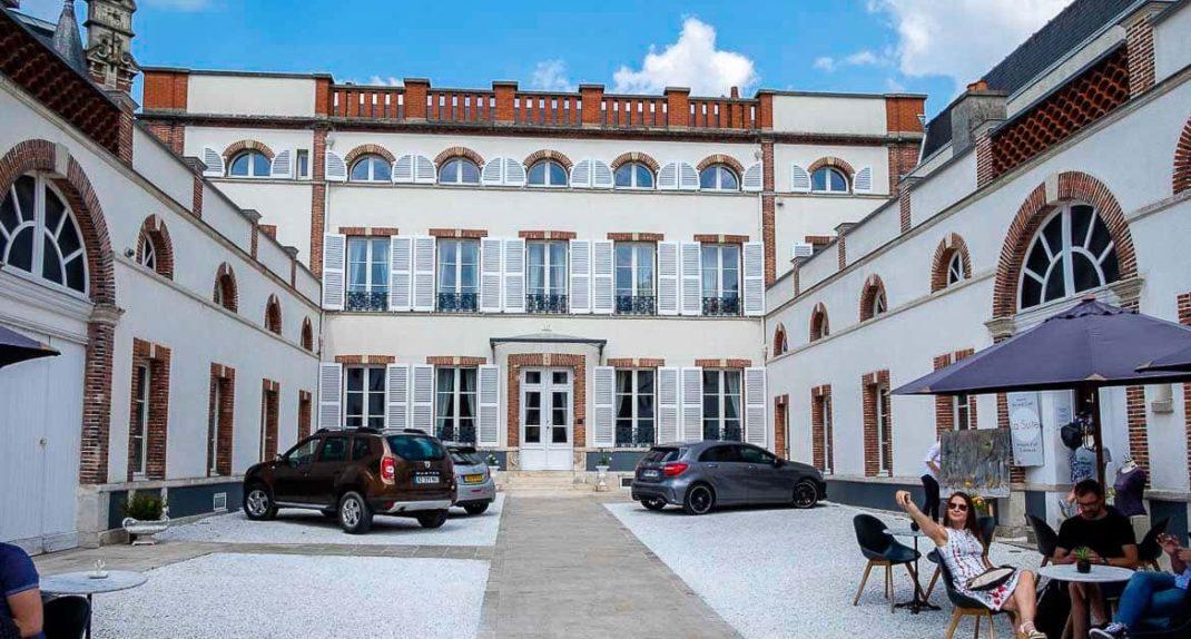 Champagne region France Colard Picard vineyard
