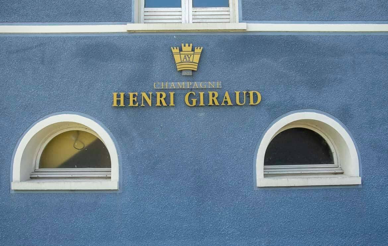 Champagne region France Henri Giraud vineyard
