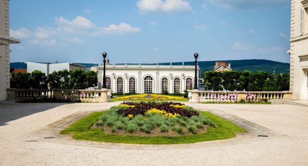 Champagne region France Moet et Chandon vineyard