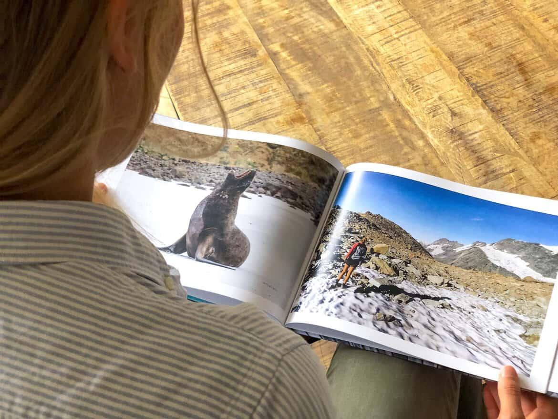 Charlotte Plans a Trip photo book