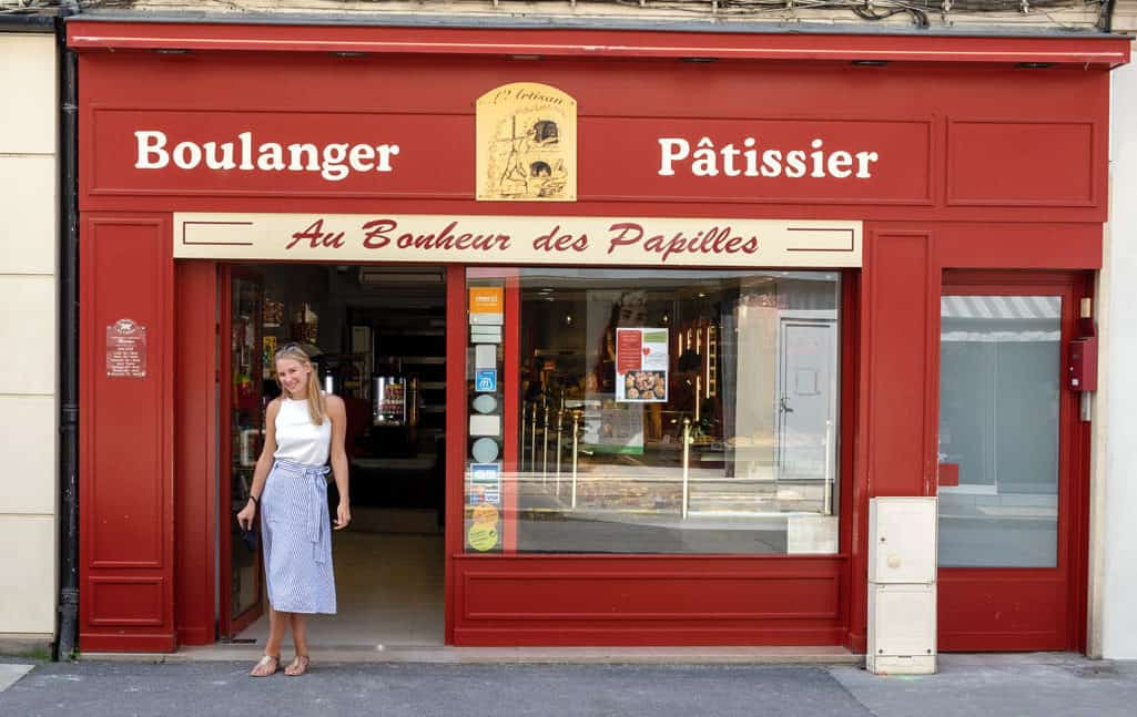 Boulangery Champagne region