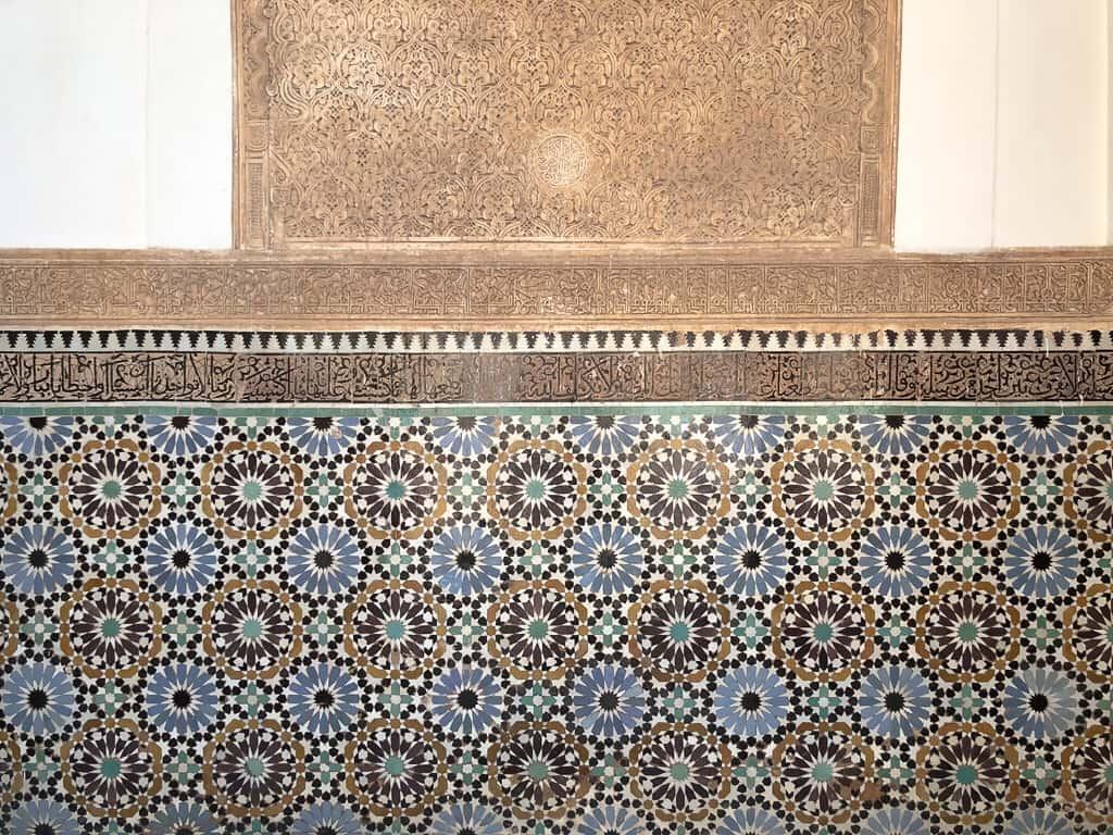 Morocco Marrakech Mosaics