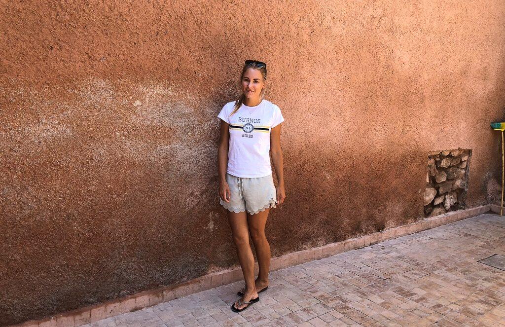Morocco Marrakech streets