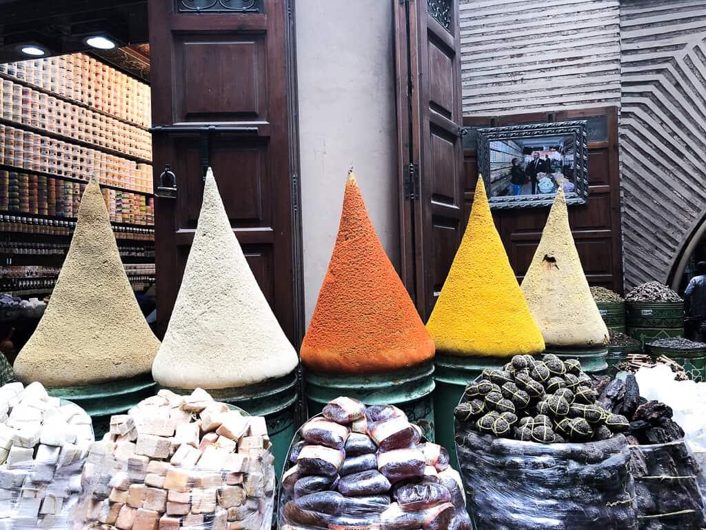 Morocco Marrakech herbs