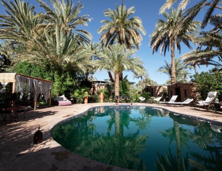 Unieke slaapplek Marokko: Slapen in een paradijs bij Ecolodge Bab El Oued!