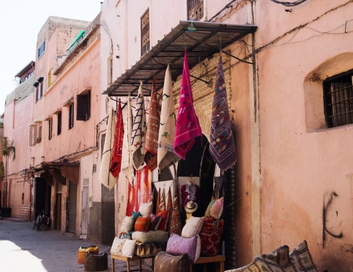 Photo impression of the most beautiful places in Marrakech