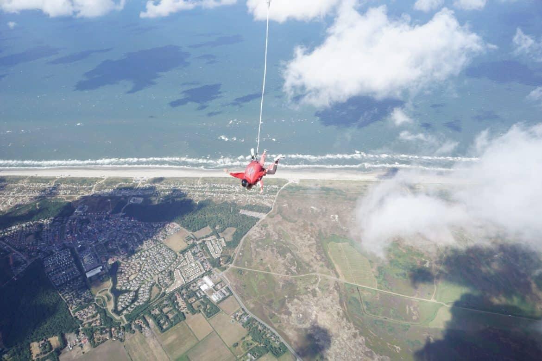Netherlands Texel sky dive