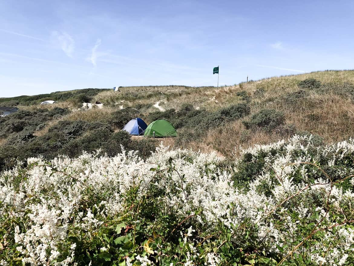 Netherlands Texel camping