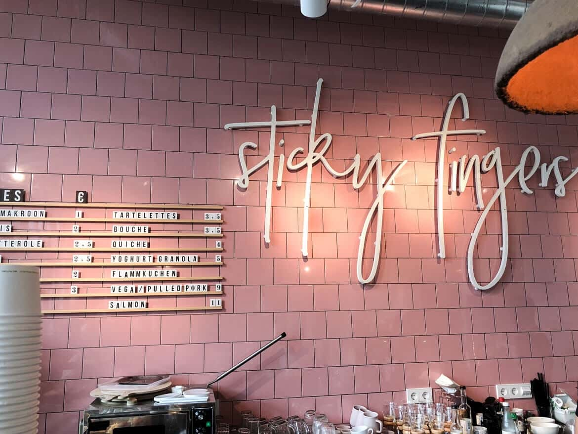 Brunch Amsterdam Sticky Fingers