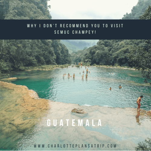 Semuc Champey Lanquin Travelguide Guatemala