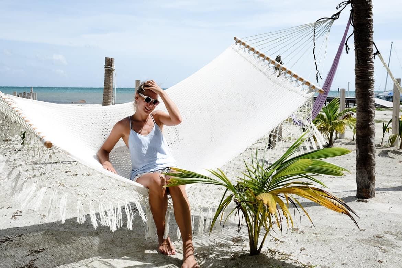 Belize Caye Caulker Hammock