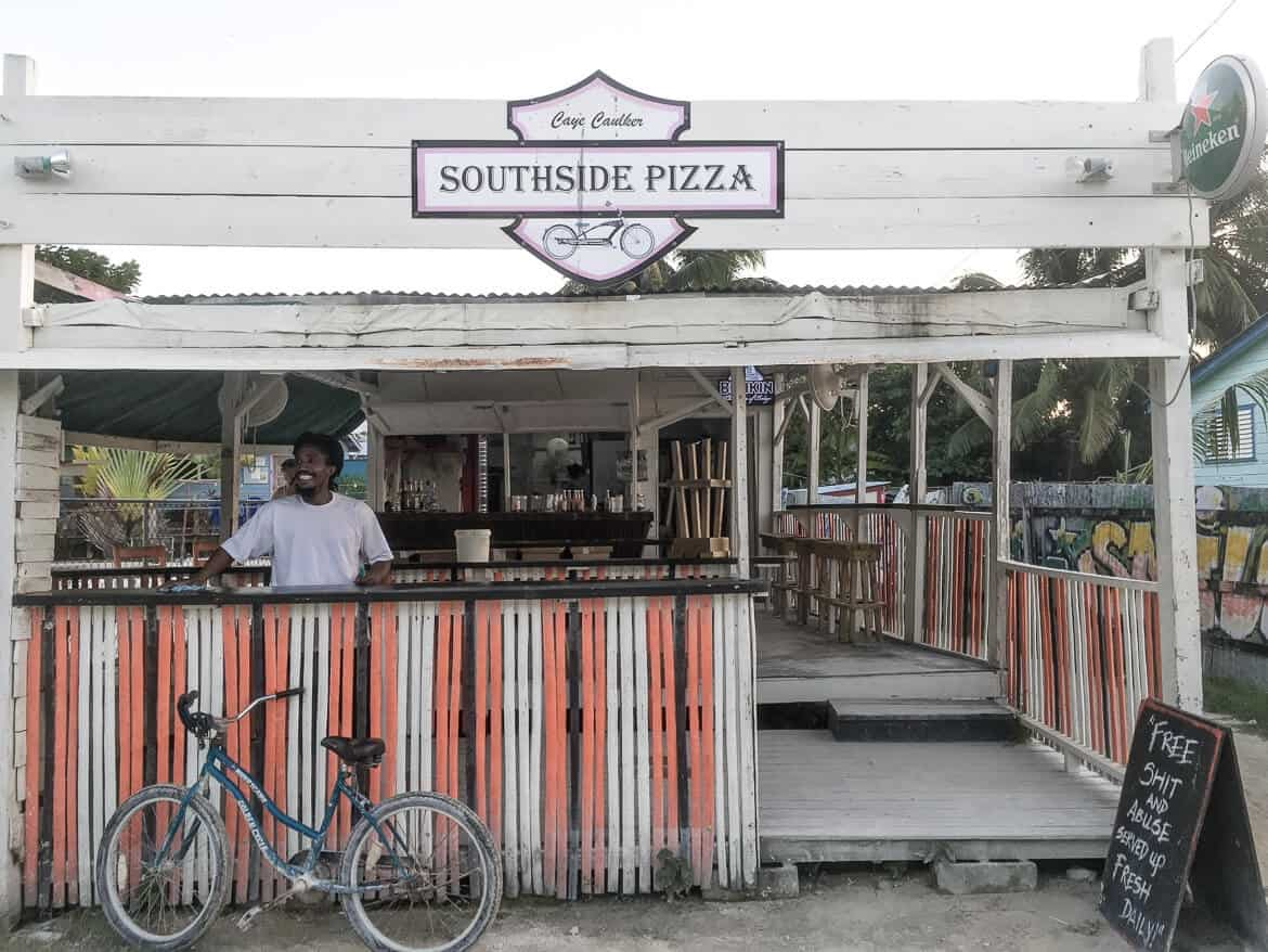 Southside Pizza Caye Caulker Belize