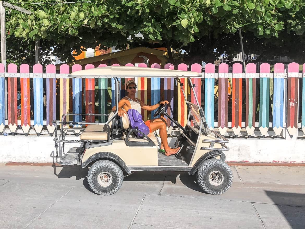 Golf carts Ambergris Caye