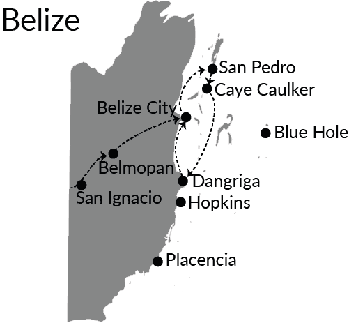Belize route website