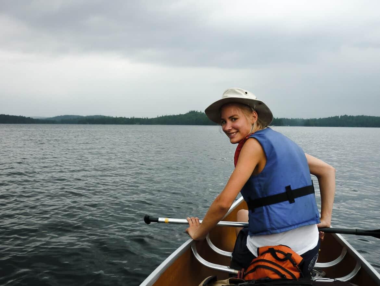 Algonquinpark Canoe