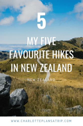 My five favorite hikes in New Zealand!