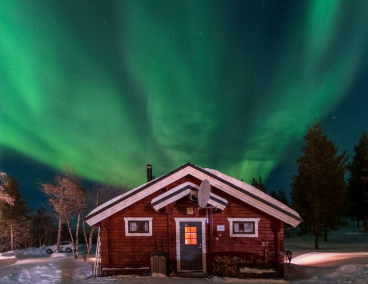 Giellajohka: the perfect accommodation in Lapland, Finland!