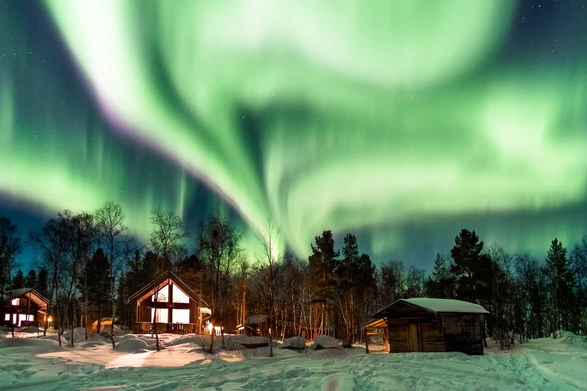 Itinerary Lapland, Northern Lights