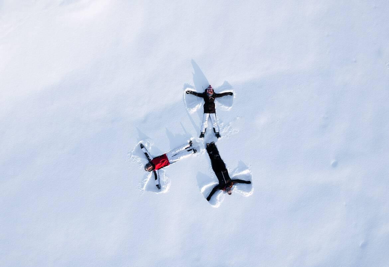 Drone shot Lapland