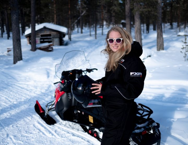 All you need to know about driving a snowmobile in Lapland, Finland!