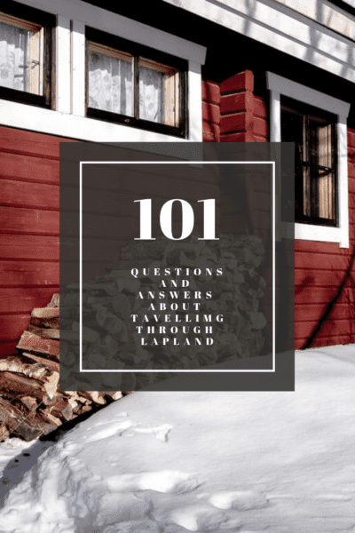 101 questions and answer on traveling through Lapland