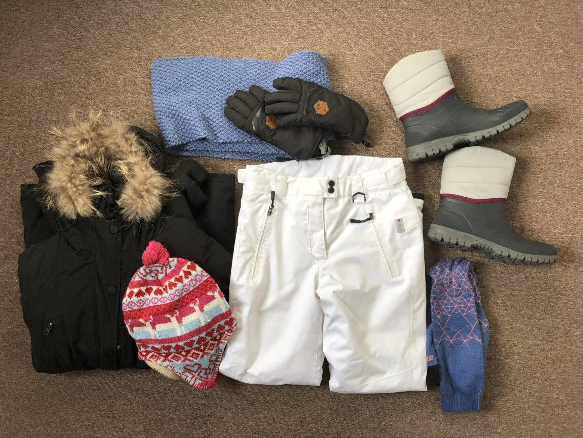 Packing list Lapland
